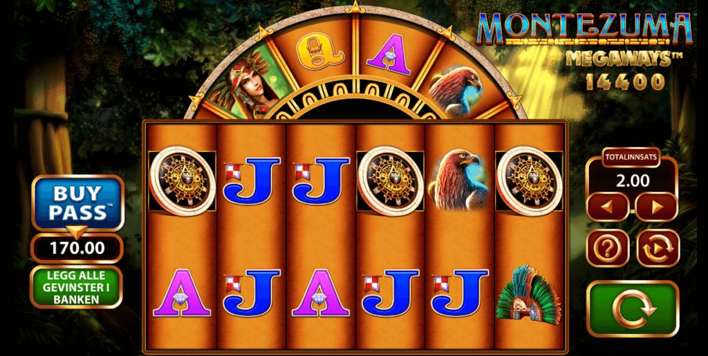 Spilleautomaten Montezuma Megaways™ av WMS