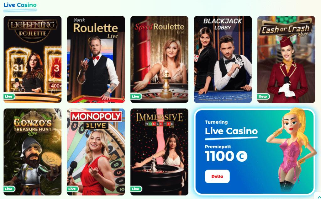 Neon54 - Live Casino