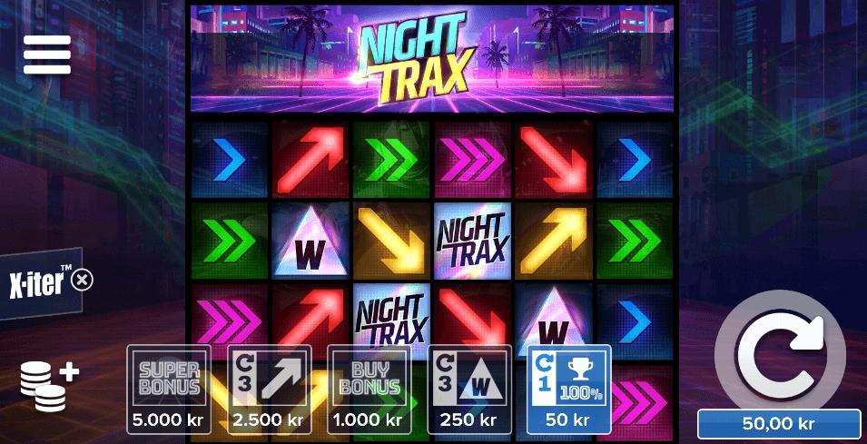 Night Trax Bonus Buy-funksjon