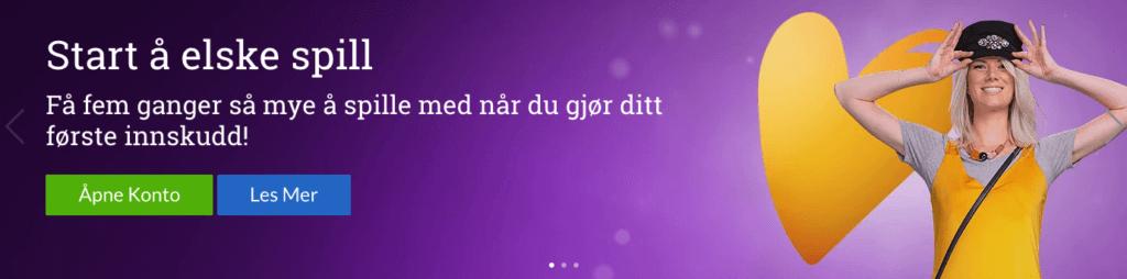 Norgesautomaten velkomstbonus