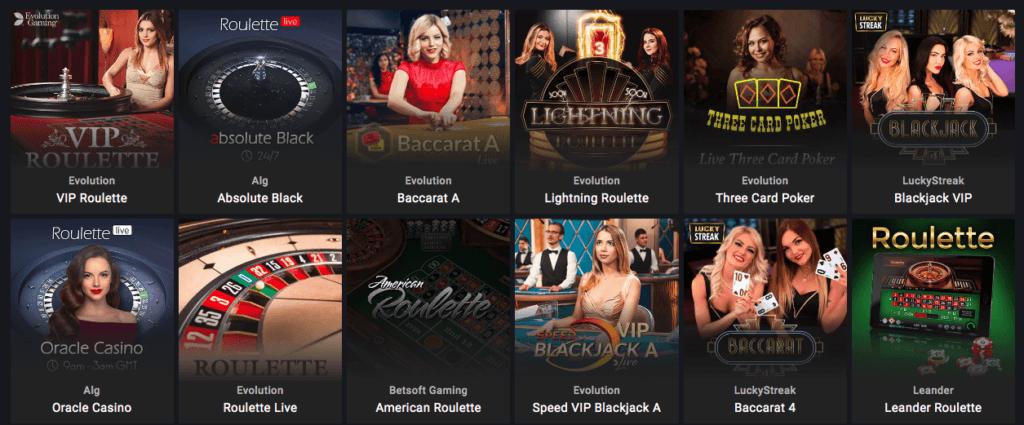 Parimatch - Live Casino