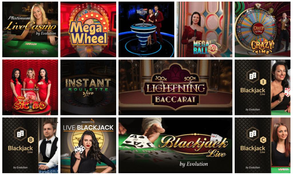 Play Jango - Live Casino