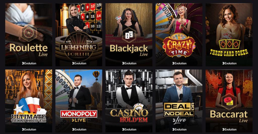 PlayGrand - Live Casino