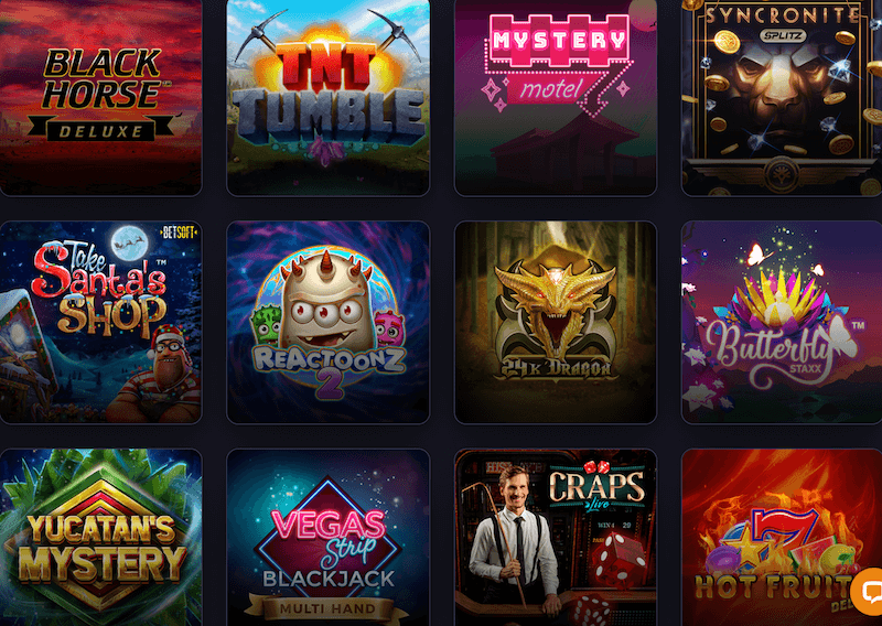 Praise Casino - spilleautomater