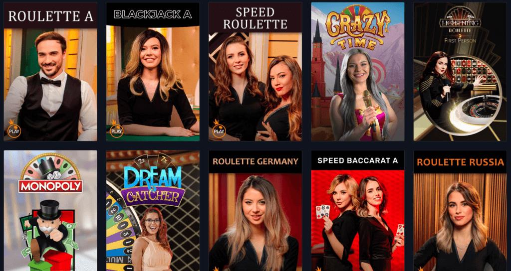 Rabona - Live Casino