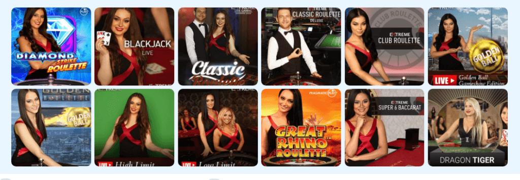 Ridika - Live Casino