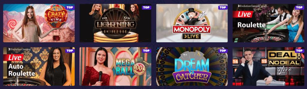 Samosa Casino - Live Casino