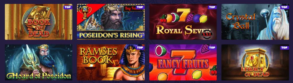 Samosa Casino spilleautomater