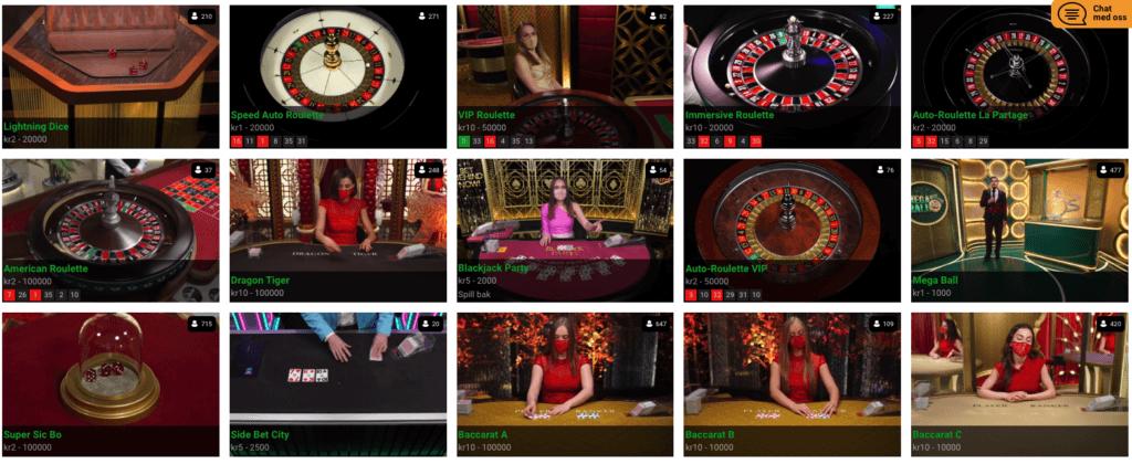 Slotanza - Live Casino