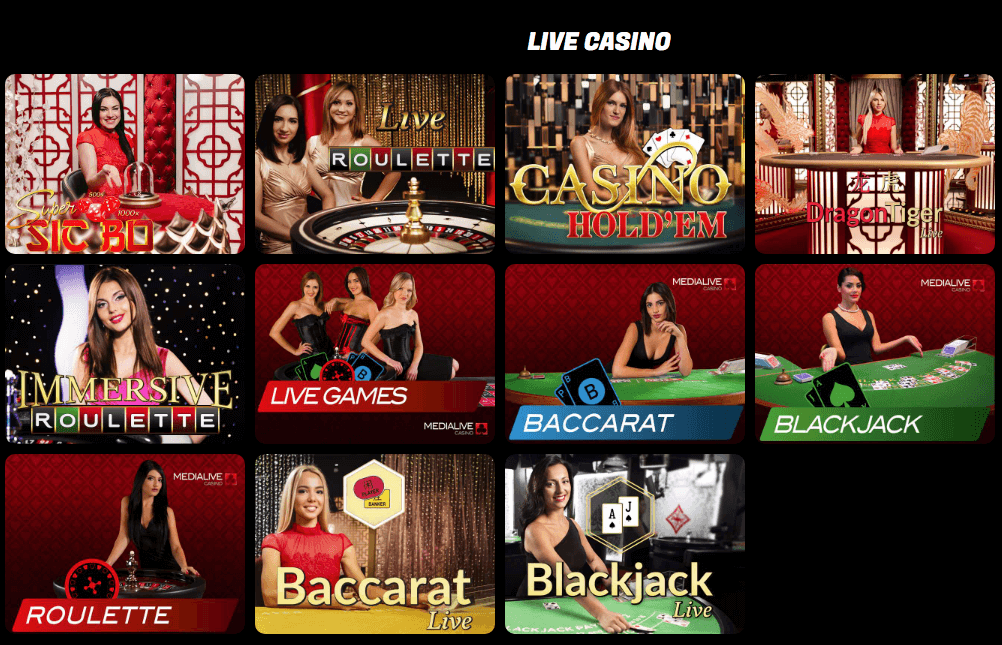 Sons of Slots - Live Casino