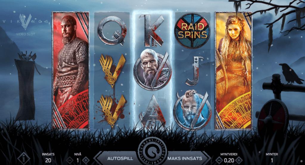 Spilleautomaten Vikings
