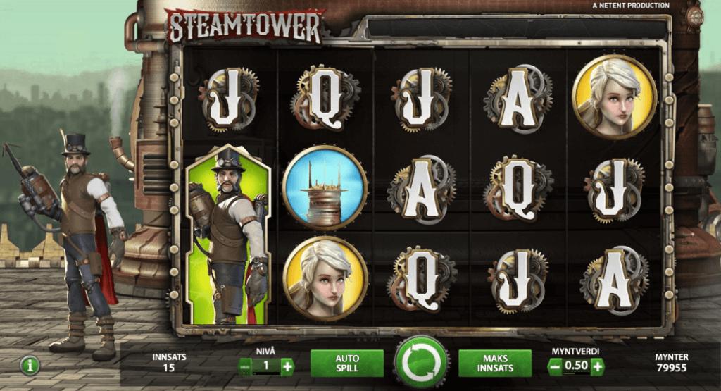 Steam Tower stablende wild