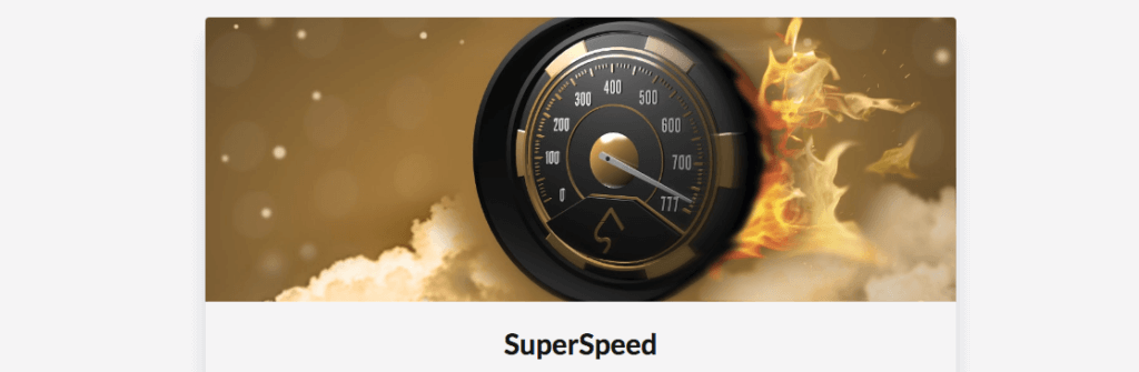 SuperSeven - SuperSpeed-måler