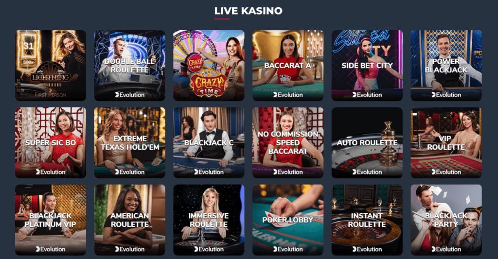 Supremo - Live Casino