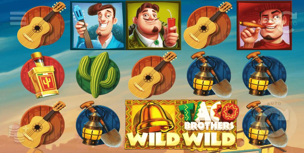 Taco Brothers av ELK Studios