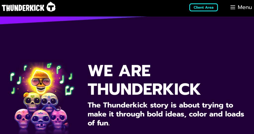 Thunderkick forside
