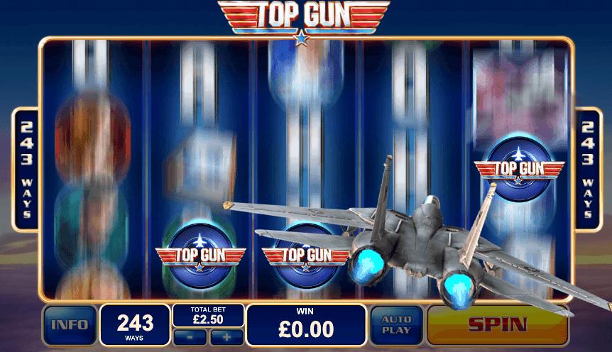 Top Gun free spins