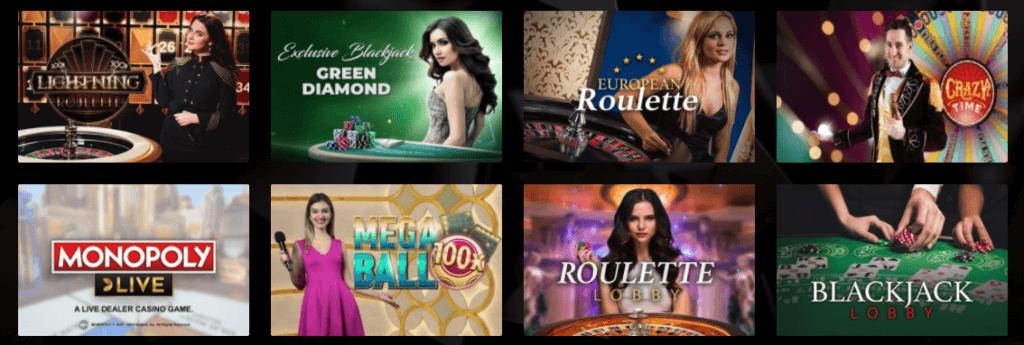 Vegasoo - Live Casino