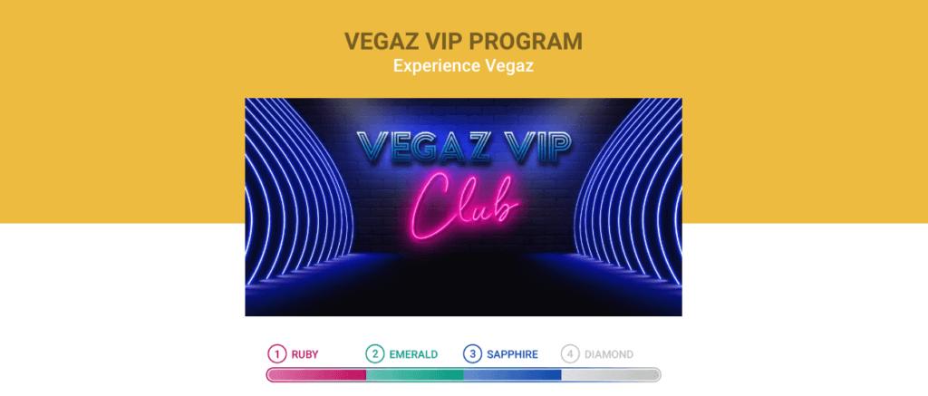 VegazCasino VIP-program