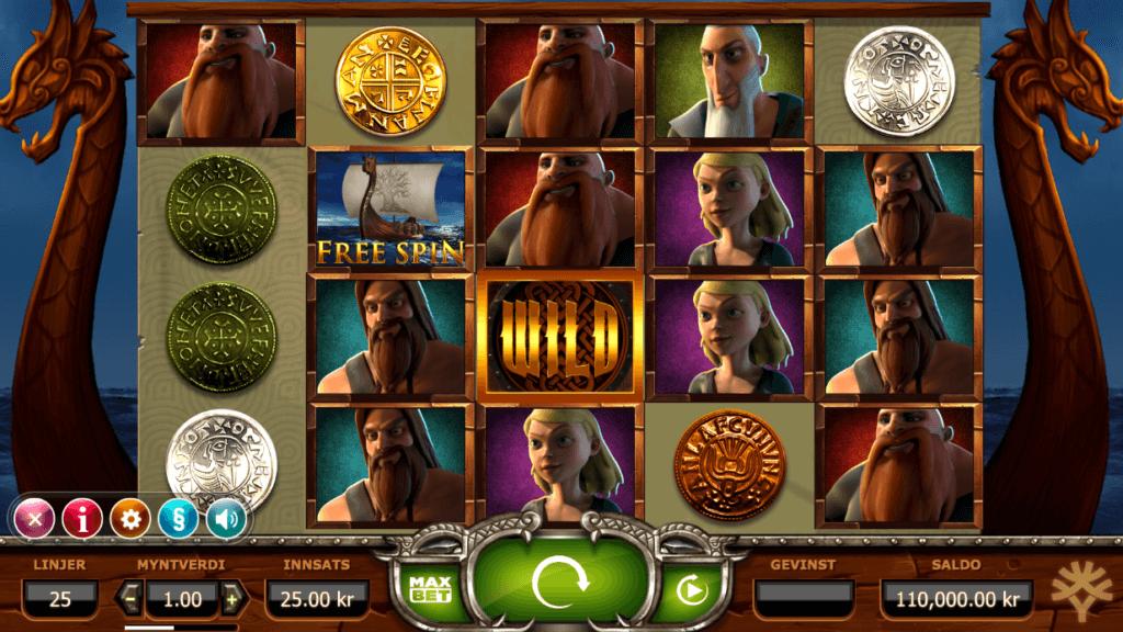 Spilleautomaten Vikings Go Wild
