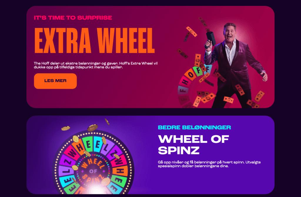 Wheelz VIP og belønninger