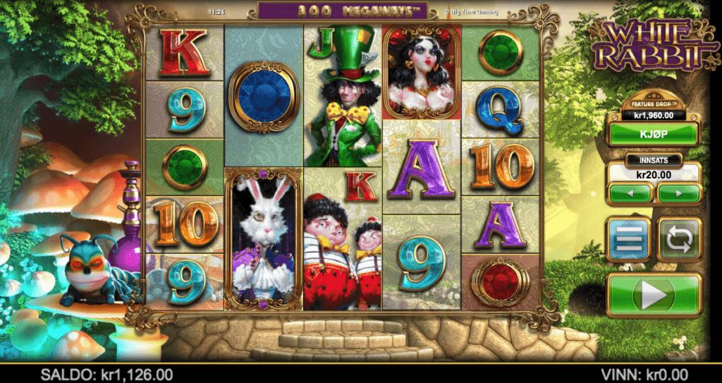 White Rabbit - En populær spilleautomat med høy RTP