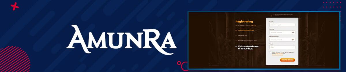 AmunRa registrering