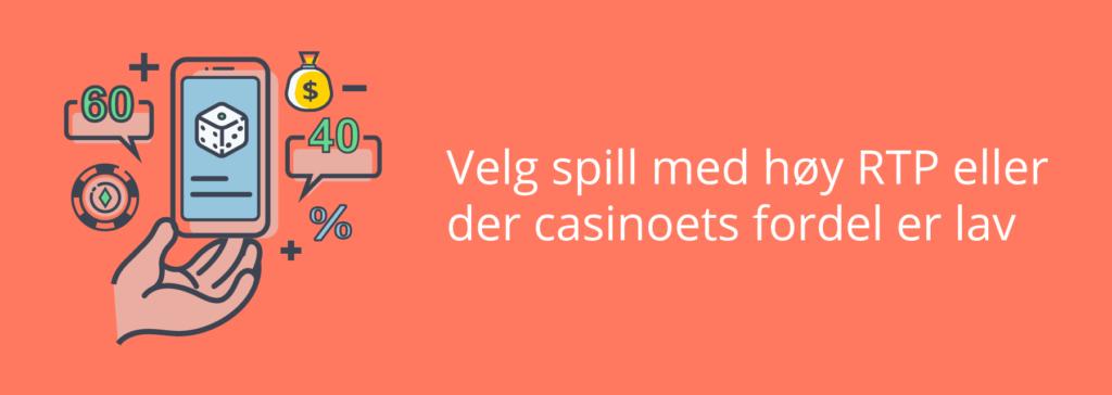 Casino Bankroll Management - RTP og husets fordel
