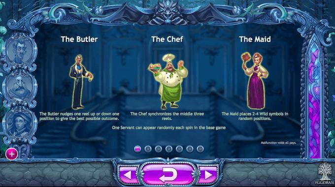 Spilleautomaten Beauty and the Beast funksjoner