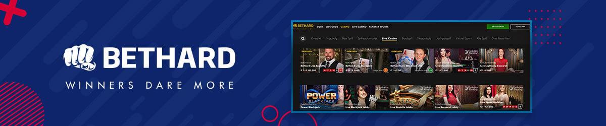 Bethard - Live Casino