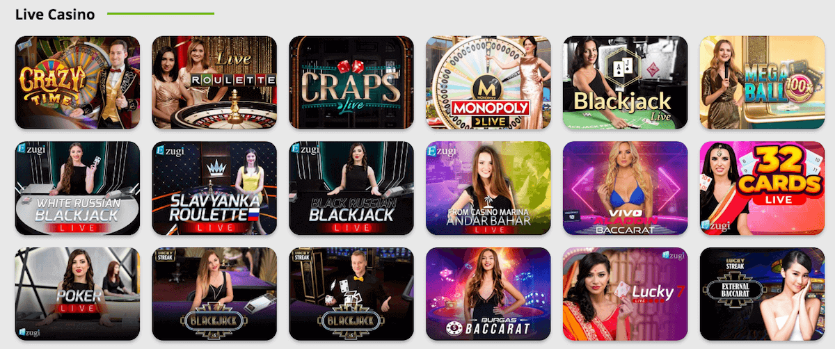 BetPat - Live Casino