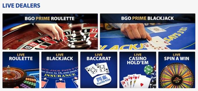 bgo live casino