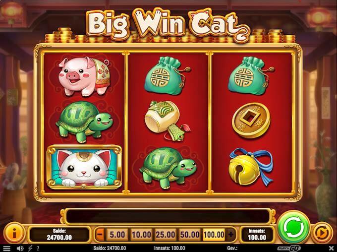 Big Win Cat hovedspill