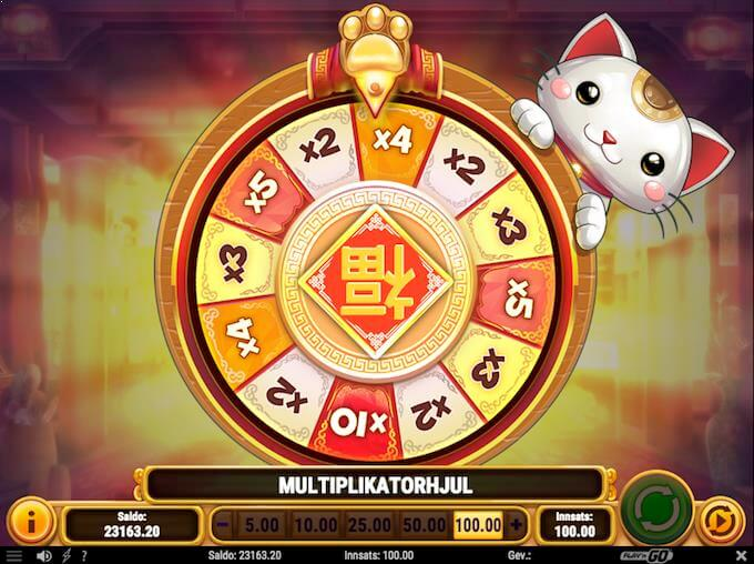 Big Win Cat multiplikatorhjul