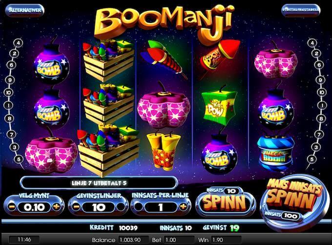 Boomanji wilds gir re-spins