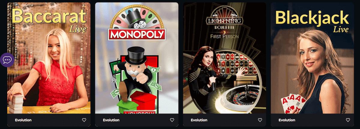 Boomerang - Live Casino