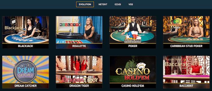 Campeonbet live casino