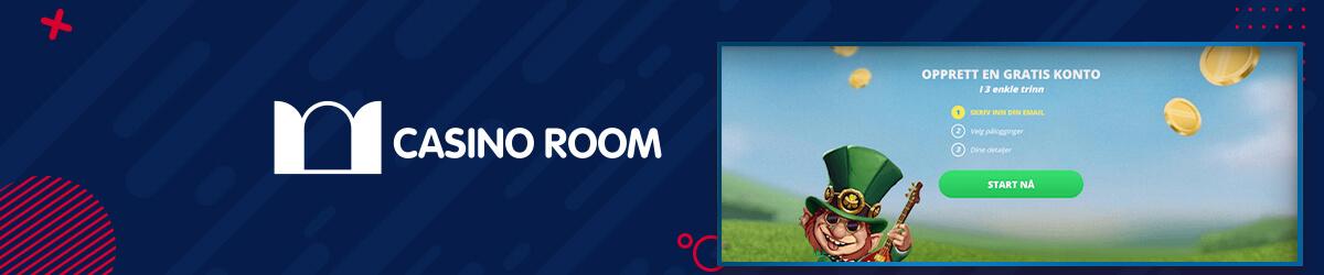 Casino Room registrering