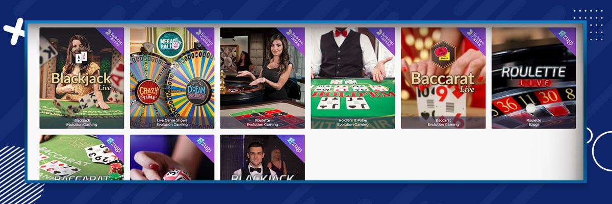 Casino Days - Live Casino