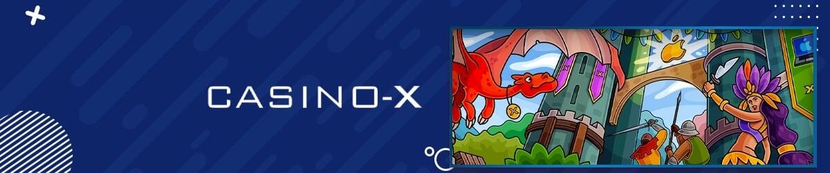 Casino-X forside