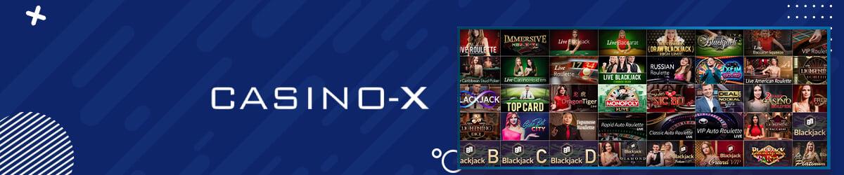Casino-X live casino