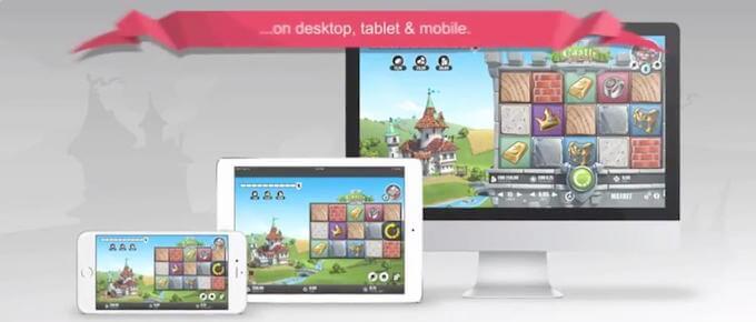 Castle Builder 2 på PC, mobil og nettbrett