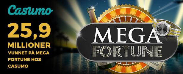 Blir du neste Mega Fortune-millionær hos Casumo