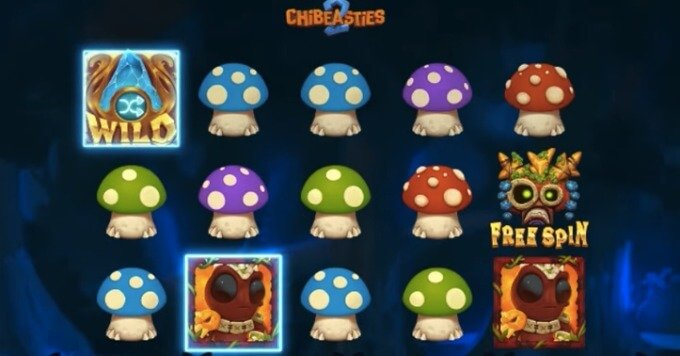 Spilleautomaten Chibeasties 2 fra Yggdrasil