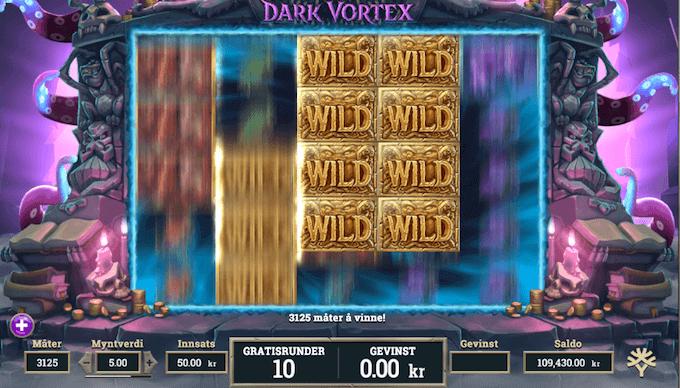 Dark Vortex free spins