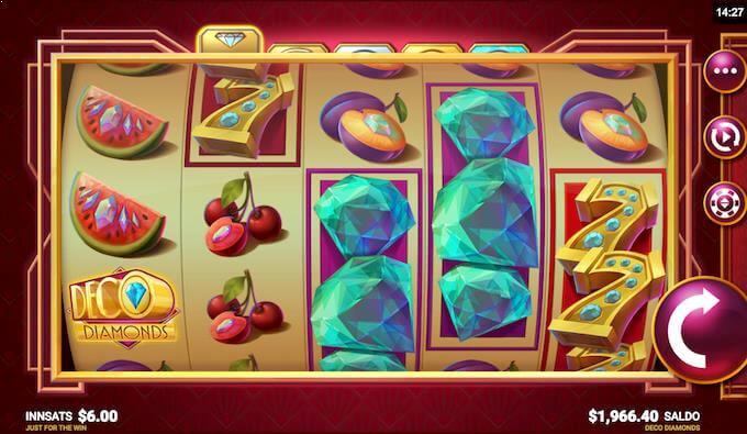 Deco Diamonds hovedspill