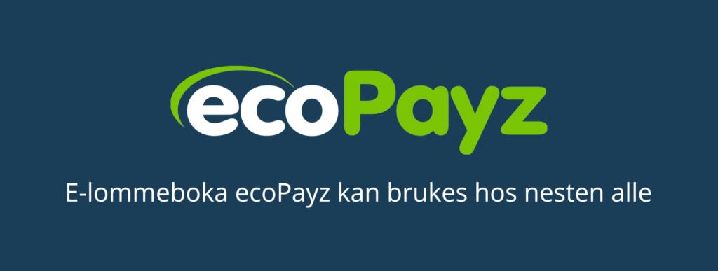 E-lommeboka ecoPayz er standard hos nettcasinoer
