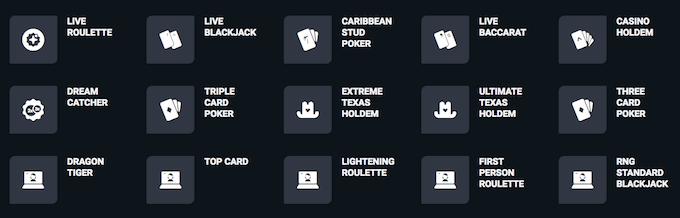 Evobet live casino