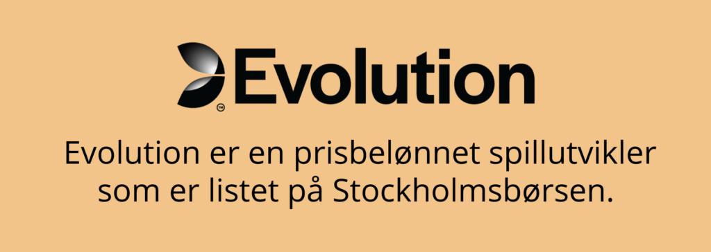 Evolution er en prisbelønnet spillutvikler