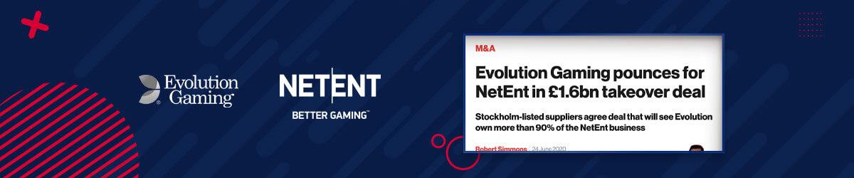 Evolution Gaming kjøper opp NetEnt